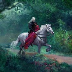 Rhaegar Targaryen Lyanna Stark - the last dragon and the wolf maid