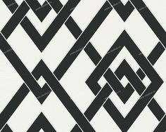 Немецкие обои A. S. Creation, коллекция Black & White 2, артикул939361 - Artique