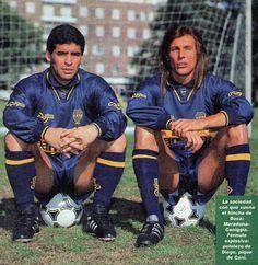 Diego y Cani en Boca