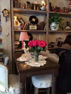 Once Upon a Time in Mari Vanna: A Russian Restaurant Russian Restaurant, Create A Fairy, Lodge Style, Entryway Tables, Bookcase, Shelves, Furniture, Home Decor, Shelving