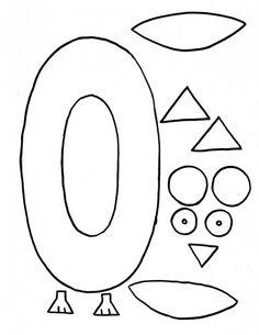 Letter Art: O is for Owl