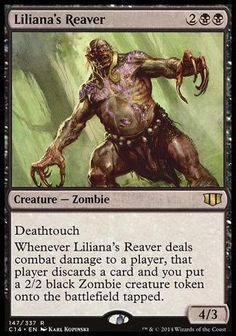 Despojador de Liliana / Liliana's Reaver | Busca de Cards | Ligamagic