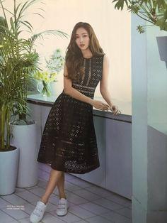 Jessica Black, Jessica & Krystal, Krystal Jung, Fashion Line, Girl Fashion, Fashion Design, Jessie, Jessica Jung Fashion, Korean Outfits