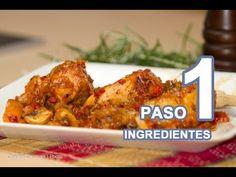 ▶ Pollo con Tomate Italiano o Pollo del Cazador Cacciattore - YouTube