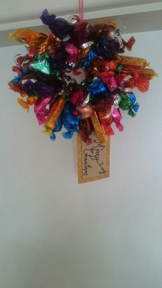 Small quality street wreath
