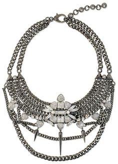 30 best necklace what images bib necklaces jewelry jewelry 1945 Silver Quarter henri bendel bond st statement necklace on shopstyle dainty jewelry stylish jewelry