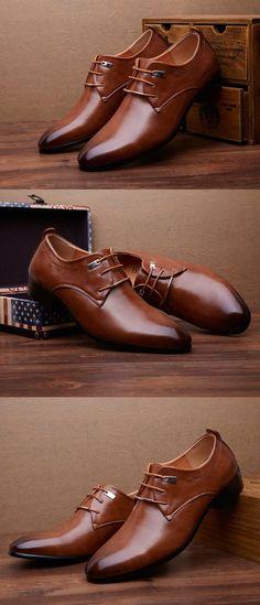 bcd8f4505a 2016 Designer Classic Men Dress Shoes PU Wingtip Italian Formal Shoes