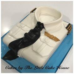 Pilot shirt cake