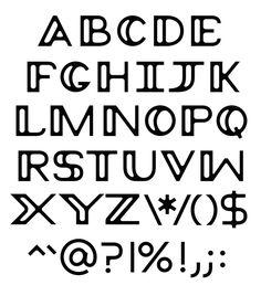 Peruse typeface