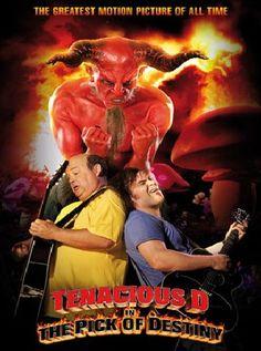 Tenacious D The Pick of Destiny Kyle Gass, Tenacious D, Extreme Metal, 31 Days Of Halloween, Alternative Music, Jack Black, Hard Rock, Destiny, Movie Tv