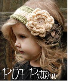 Knitting PATTERNThe Nataleigh Warmer Toddler by Thevelvetacorn