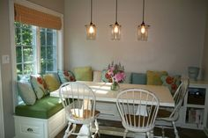 l shaped dining bench with storage - Google Search