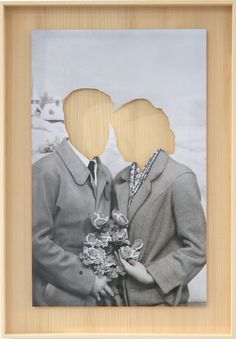 Hans-Peter Feldmann - Lovecouple (3 hands), ca 2009.  Collection Frac Aquitaine