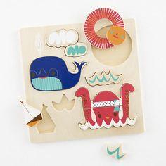 Sea Wildlife Party Puzzle