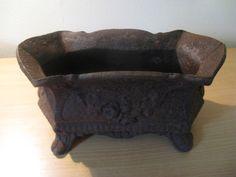 Antique iron Jardenière - planter...rectangular #ArtNouveau