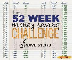 The Turquoise Owl, 52 Week Money Saving Challenge, House of Rose, Finance, http://theturquoiseowlblog.blogspot.com/