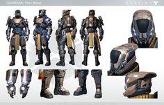 Destiny Titan Male Character Sheet