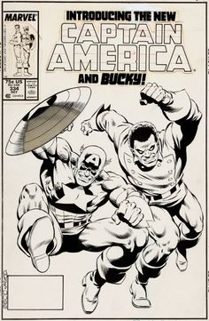 Captain America #334 by Mike Zeck