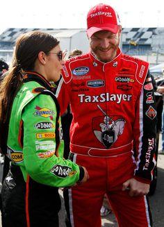 Dale Earnhardt Jr. #5 & Danica Patrick #7