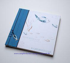 SeepferdchenDesign: Kommunionsalbum - japanische Stabbindung