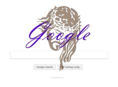 Google Doodle mit Jesus Christus Google Doodle with Jesus Christ