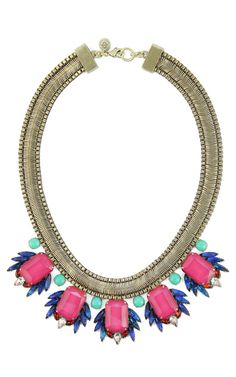 Loren Hope Leda Bib Necklace at Social Dress Shop