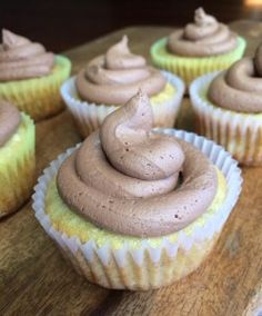 """I added """"Gluten Free Banana Cupcakes with Nutella Frosting"""" to an #inlinkz linkup!http://www.glutenfreepalate.com/banana-cupcakes-with-nutella-frosting-10-ingredients/"""