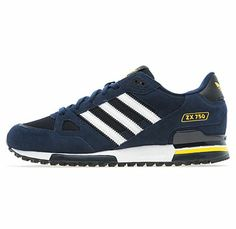 sports shoes 1ba3f 640e9 Adidas ZX 750 - NAVY   WHITE - 2014