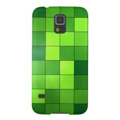 Shiny Green Abstract Galaxy S5 Cover. #zazzle #samsunggalaxy #samsunggalaxyS5case