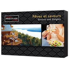Coffrets Prestige : Rêves et Saveurs | Idée Cadeau Québec http://www.ideecadeauquebec.com/coffrets-prestige-reves-et-saveurs/