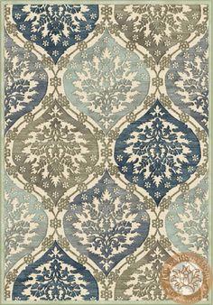 Passion modern szőnyeg, kék, 100% viszkóz. ID: 489-497440-189. 115,000 v 390,000 Ft