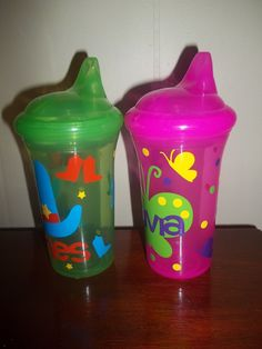 Personalized Sippy Cup $10 Gavin