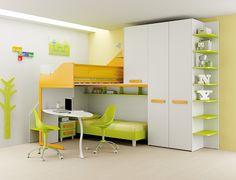 #Arredamento #Cameretta Moretti Compact: Catalogo Start Solutions 2013 >> LH36 http://www.moretticompact.it/start.htm