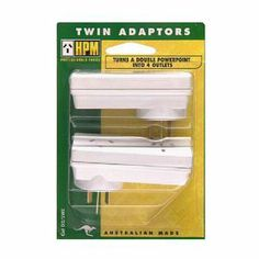 Shop HPM Slimline Double Adaptors Twin Pack with our Price Beat Guarantee. Save with Officeworks. Office Lighting, Twins, Packing, Bag Packaging, Desk Light, Twin, Gemini, Twin Babies