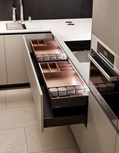 Cajones de cocina de alta calidad