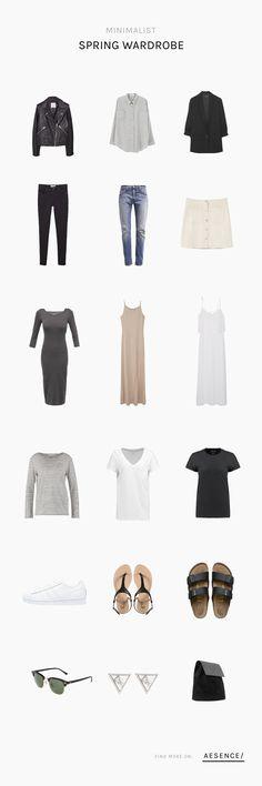 Im Trend: Der minimalistische Kleiderschrank - Jetzt auch für den kommenden Frühling/Sommer