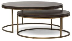 Tables - Bassey-nesting-cocktail-table - Mitchell Gold – Lillian August