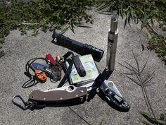 July 2013 EDC Pocket Dump: http://ift.tt/1IhTonk | #survival #preppers #gear From MoreThanJustSurviving.com