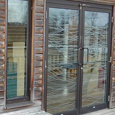 STOP BIRDS HITTING WINDOWS ; Effective Window Solutions for Homeowners and Architects...     Walker Glass Aviprotek, effective product to stop birds hitting windows