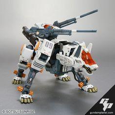 HMM Zoids RHI-3 Command Wolf
