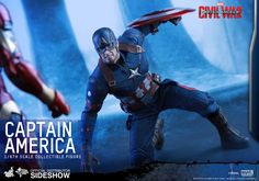 Hot Toys Captain America Sixth Scale Figure