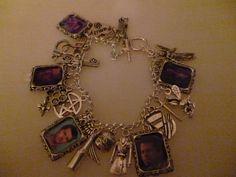 Supernatural Castiel Charm Bracelet.