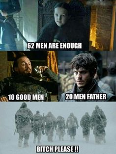 Northern Squad, Game of Thrones.