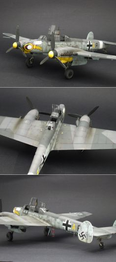 Revell Me 110 G2. Italian front circa 1943.    http://www.network54.com/Forum/47751/message/1401206017/revell+Me+110+G2