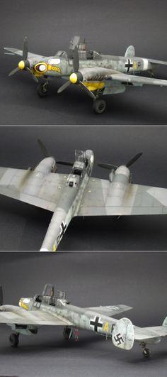Revell Me 110 G2. Italian front circa 1943.    http://www.network54.com/Forum/47751/message/1401206017/revell+Me+110+G2