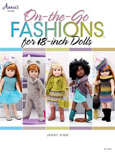 Maggie's Crochet · On-The-Go Fashions for 18-inch Dolls
