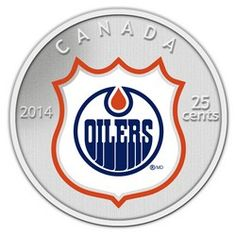 Royal Canadian Mint 2014 NHL Coin and Stamp Gift Set Edmonton Oilers Canadian Coins, Nhl Logos, Wayne Gretzky, Mint Coins, O Canada, Edmonton Oilers, National Hockey League, Ice Hockey, Leather Tooling