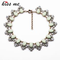 10,68€ - Fashion Jewelry Elegant Vintage Resin Plant Pendant Collar Necklaces &Pendant - ShiJie Jewelry Factory