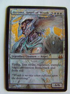 Akroma, Angel of Wrath - Foil by seesic.deviantart.com on @DeviantArt