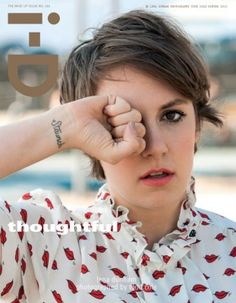 We thought last weeks i-D Magazine cover with the fabulous Grace Coddington was awesome, but she's got some stiff competition with the new Lena Dunham cover. Lena Dunham, Grace Coddington, Girls Generation, Pretty People, Beautiful People, Beautiful Mind, Amazing People, Amazing Women, Le Vatican
